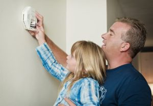 baton rouge spring fix changing batteries on smoke detector